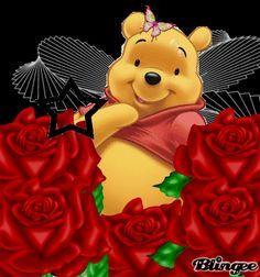 winnie the pooh Winnie The Pooh Gif, Winnie The Pooh Christmas, Winne The Pooh, Winnie The Pooh Friends, Eeyore Pictures, Winnie The Pooh Pictures, Fairy Wallpaper, Disney Wallpaper, Disney Cartoon Characters
