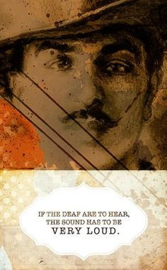 Discover recipes, home ideas, style inspiration and other ideas to try. Bhagat Singh Wallpapers, Rang De Basanti, Indian Freedom Fighters, Motivational Quotes, Inspirational Quotes, Fight For Freedom, Painting Wallpaper, Drama Movies, Buy Art