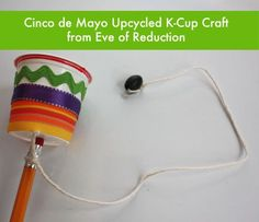 Balero and 9 other Cinco de Mayo crafts for kids!: