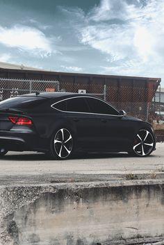 "luxeware: "" Black Audi RS7 | Luxeware | """