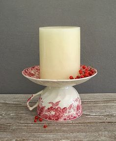 DIY teacup/candle
