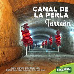 El Canal de la Perla es un antiguo canal de riego subterráneo abovedado revestido de ladrillo que se encuentra bajo el centro histórico de la ciudad de Torreón, actualmente se usa como paseo peatonal, sin duda, un lugar ideal para caminar disfrutando de una rica botana de #Promanuez. http://www.promanuez.com.mx/productos #AliméntateSanamente #RicoySaludable #Natural