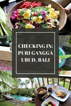A luxury hotel stay in Ubud, Bali. Located just 30 minutes from the city center - this boutique property offers just 20 rooms with an endlessly beautiful property.