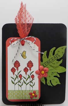 Lynn's Locker: Stampin' Up Flowering Fields Botanicals Water Colo...