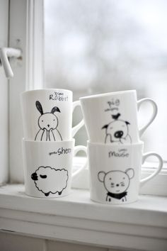 Krus Sheep | Kremmerhuset Tableware, Cute, Diy, Home Decor, Manualidades, Dinnerware, Bricolage, Dishes, Kawaii