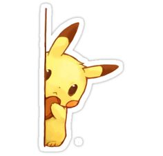 Cute pikachu by Pokeplaza (this would make a cute bookmark!)
