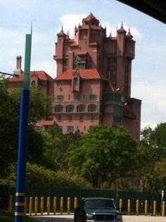 Tower of Terror at Walt Disney World.