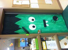 Happy Halloween classroom door