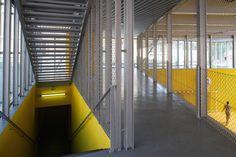 "CAB ARCHITECTES // ""Moneghetti"" Sports Center in Beausoleil"