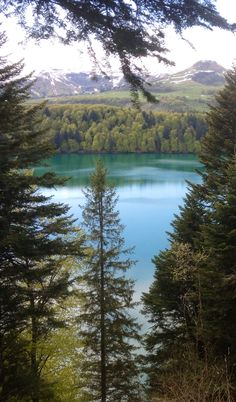 Lac Serviere, Auvergne, France