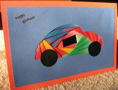Examples of greeting cards and other projects made from the free car pattern available here. Iris Folding, Fathers Day, Birthday, Cards, Beautiful, Father's Day, Birthdays, Dirt Bike Birthday, Maps