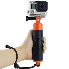 Was £29.99 > Now £9.99.  Save 67% off Premium Floating Hand Grip for Gopro Hero 4 #5StarDeal, #CameraPhoto, #CamKix, #Electronics, #LowestEver, #Photography, #Under10