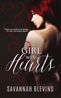 Savannah Blevins: Excerpt from THE GIRL WITH HEARTS