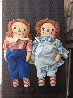 Georgene-23-Raggedy-Ann-and-Andy-Pair-1940-s-50-s