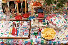 Cath Kidston Christmas Table