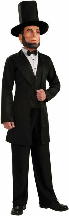 This Abraham Lincoln costume will make anyone seem presidential.