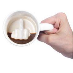 Mug Doigt D'honneur #Mug #DoigtDHonneur