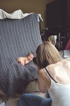 DIY Baby Photoshoot