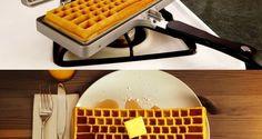 [TOPITRUC] Un appareil à gauffre en forme de clavier pour les geeks gourmands