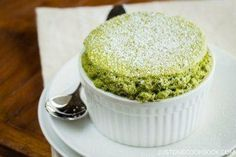 Green Tea Souffle 抹茶スフレ • Just One Cookbook