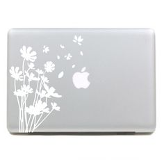 Beautiful flowers Macbook Decals Macbook by StickersMacbook, $6.98