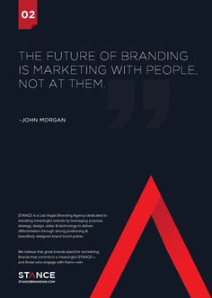 2da834e4c The future of branding is marketing with people, not at them.~John Morgan