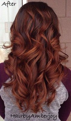 Burnt cinnamon red: