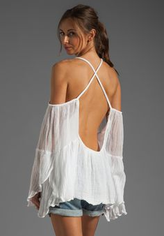 JEN'S PIRATE BOOTY Wildlife Drop Back Mini in White at Revolve Clothing - Free Shipping!