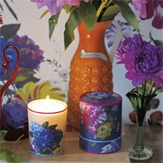Think this is gorgeous...but Too many pennies!    amrapali scented candle burning time 50 hours  £33