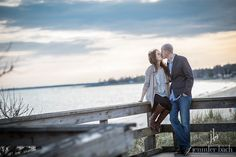Engagement session at Harkness Memorial Park