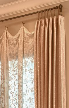 Bedroom Curtain Ideas (For Master, Small, and Children Bedroom) - Curtains Curtain Designs, Curtain Styles, Curtain Ideas, Home Curtains, Hanging Curtains, Window Coverings, Window Treatments, Soft Furnishings, Diy Home Decor