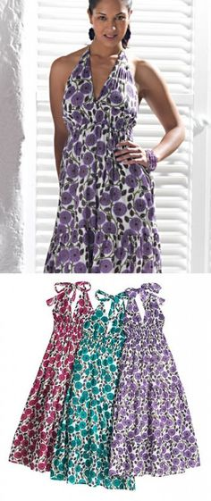 CHAKRA letní maxi šaty zelenomodré - fair trade oblečení z biobavlny 24f216e12eb