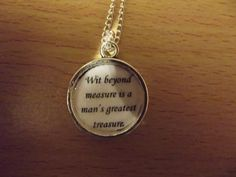 Harry+Potter+charm+necklace+by+CharlieTheBadger+on+Etsy,+£2.50
