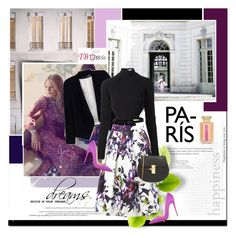 """""""With you!"""" by stellaasteria ❤ liked on Polyvore featuring Chanel, Joie, Alice + Olivia, Thierry Mugler, Christian Louboutin, Chloé, L'Artisan Parfumeur and tbdressreviews"""
