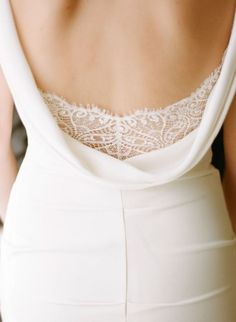 wedding dress back detail