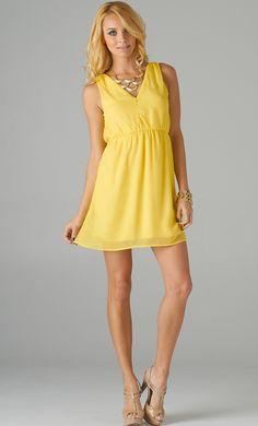 #lemon #yellow #open #back #openback #dress #publik #shoppublik  www.shoppublik.com Lemon Sorbet, Open Back Dresses, Lemon Yellow, Dress Backs, Lime Sherbet