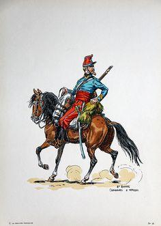 French; Chasseur d'Afrique, Tenue de Campagne, 2nd Empire