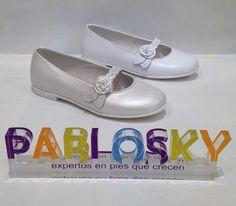 zapato comunion niña pablosky
