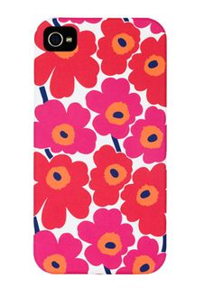Floral Marimekko iPhone case -- WANT!