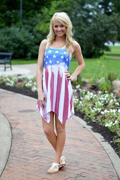 Star Spangled Dress