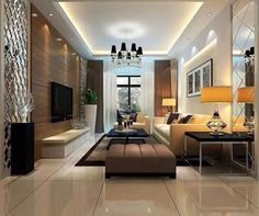 The main room in any house is the living room. The living room design is one of the most important moments in the arrangement of the livin. Ceiling Design Living Room, False Ceiling Design, Living Room Designs, Living Room Modern, Living Room Interior, Living Room Decor, Room Partition Designs, Sofa Set Designs, Modern Interior Design
