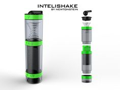 Patel is raising funds for InteliShake - Smart sports drinks bottle + built-in storage on Kickstarter! Cool,Clever & Stylish for Hydration,Nutrition & Personal Storage for fitness & Sports! Personal Storage, Shaker Bottle, Sports Drink, Built In Storage, Protein Bars, Pills, Drink Bottles, Drinks, Drink