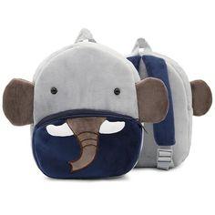 Children Mini School Bags for Baby Boys Girls Cartoon Cute Animal Schoolbag Kindergarten Kids Soft Plush Backpack Infant Mochila