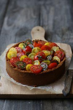Cheesecake aux tomates...audacieux!