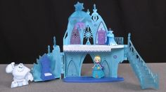 Elsa's Frozen castle is a toy from the Disney Frozen franchise, and will appeal to fans of the character and movie.