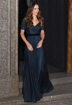 The Duchess of Cambridge at The Portrait Gala 2014 at the National Portrait Gallery - Jenny Packham