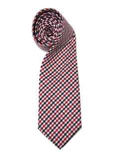 Think about it: this would go with just as many shirts as a red, white, and blue Hilfiger or british striped tie, yet it would have an entirely different effect.