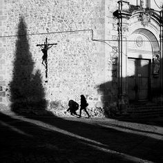 The shadows of Cuenca by Ragnar B. Varga Spanish Towns, Photo Awards, Ragnar, Just Go, Street Photography, Shadows, Artwork, Photographs, Darkness