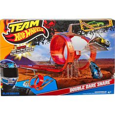 Team Hot Wheels Double Dare Snare Track Set