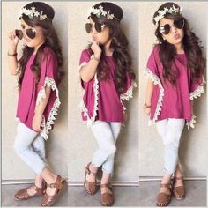 white leggings and pink blouse for OOTD